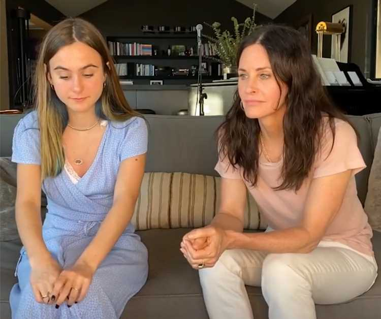 Courteney Cox Gets Real About Being Pregnant in Interview with Daughter Coco