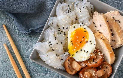 Traditional dish from Japan – the secret of Slimming-konjac noodles