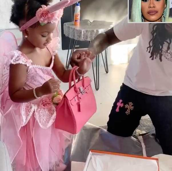 Cardi B Hits Back at Criticism Over Offset Buying Daughter, 2, a $9,000 Handbag for Her Birthday