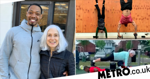 Super-fit 73-year-old lifts weights and can do handstands
