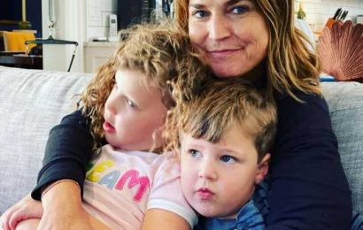 Savannah Guthrie Cuddles with Her Kids After Covering Election: 'Reunion I've Been Waiting for'