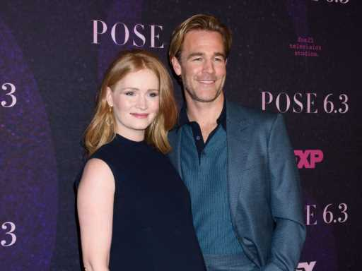 Kimberly & James Van Der Beek Have a Sad & Scary Reason for Teaming Up With Red Cross