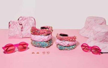 Lele Sadoughi x Barbie Will Take Your Matching Mommy-and-Me Accessory Game to the Next Level